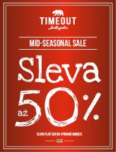 MID SEASONAL SALE AŽ 50%